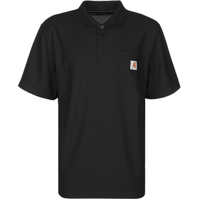 Carhartt Work Pocket Polo Men, black